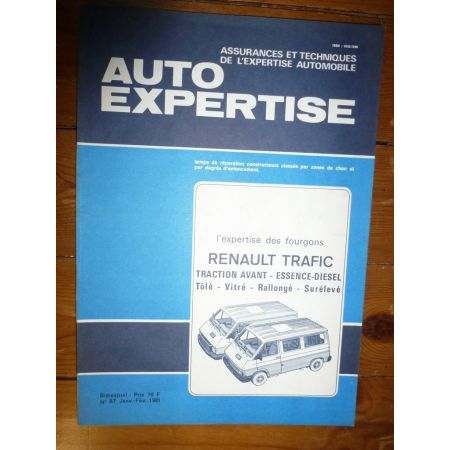 Trafic Revue Auto Expertise Renault