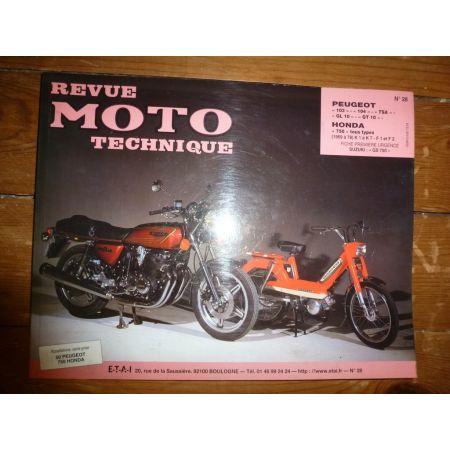103 104 TSA 750 Revue Technique moto Honda Peugeot