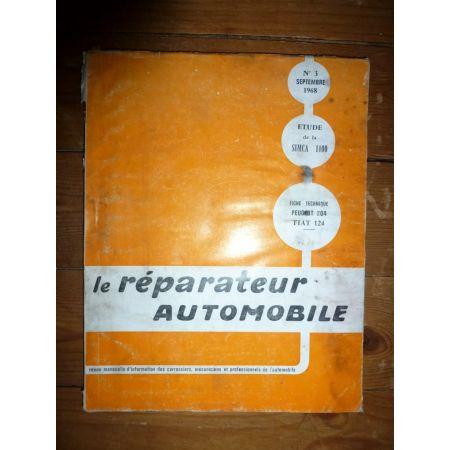 Simca 1100 Revue Reparateur Automobile
