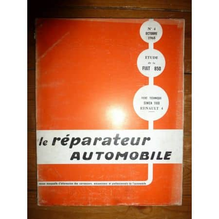 850 Revue Reparateur Automobile