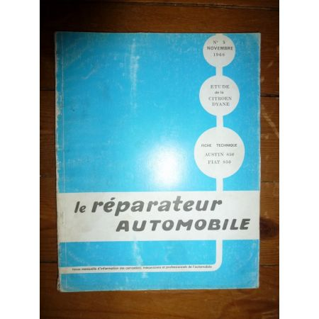 Dyane Revue Reparateur Automobile