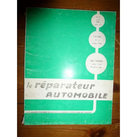 BMC 1100 Revue Reparateur Automobile