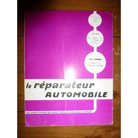 KADETT B - OLYMPIA A Revue Reparateur Automobile