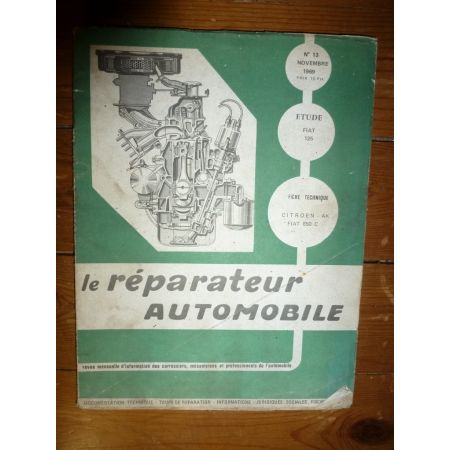 125 Revue Reparateur Automobile