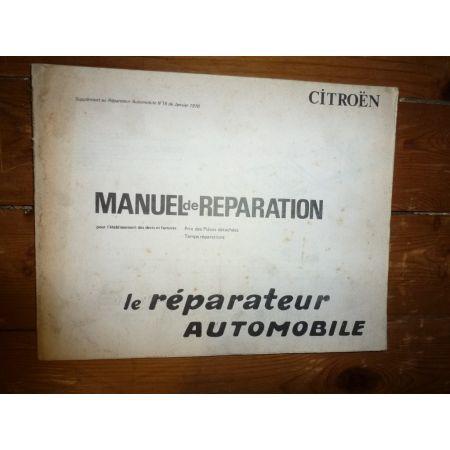 2CV Revue Reparateur Automobile