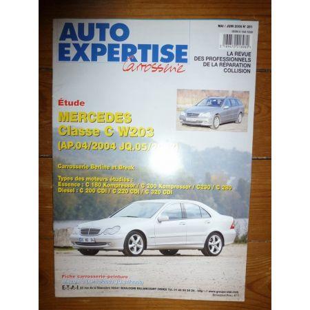 Classe C W203 Revue Auto Expertise Mercedes