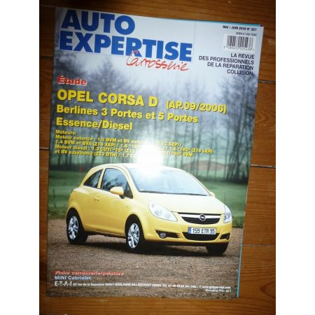 Corsa D 06- Revue Auto Expertise Opel
