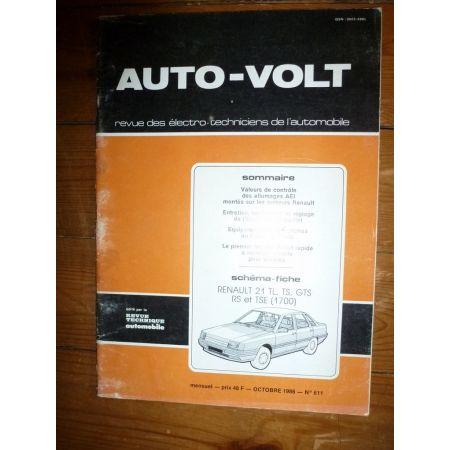R21 Revue Technique Electronic Auto Volt Renault
