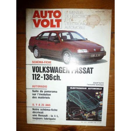 Passat 112-136cv Revue Technique Electronic Auto Volt Volkswagen