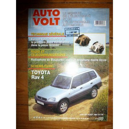 RAV 4 Revue Technique Electronic Auto Volt Toyota