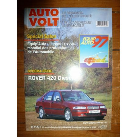 420 Die Revue Technique Electronic Auto Volt Rover