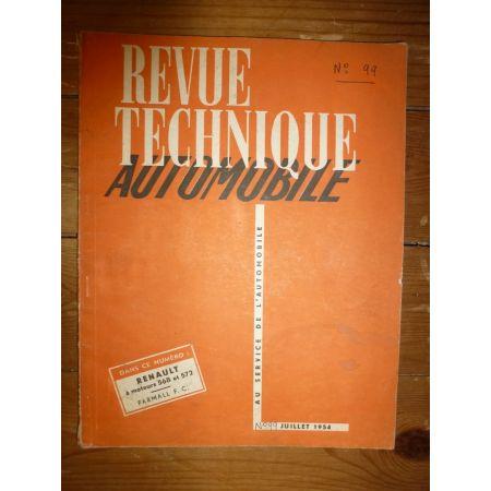 568 572 - FC Revue Technique Industriel Renault Man Saviem