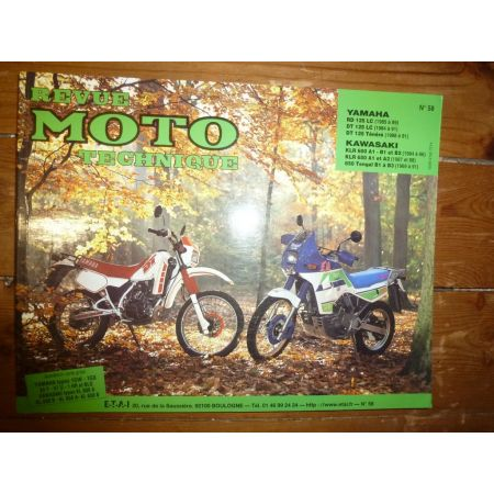 DT RD125 KLR600 Revue Technique moto Kawasaki Yamaha