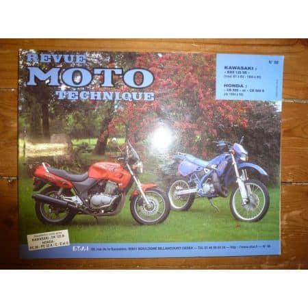 CB500 KDX125 Revue Technique moto Honda Kawasaki