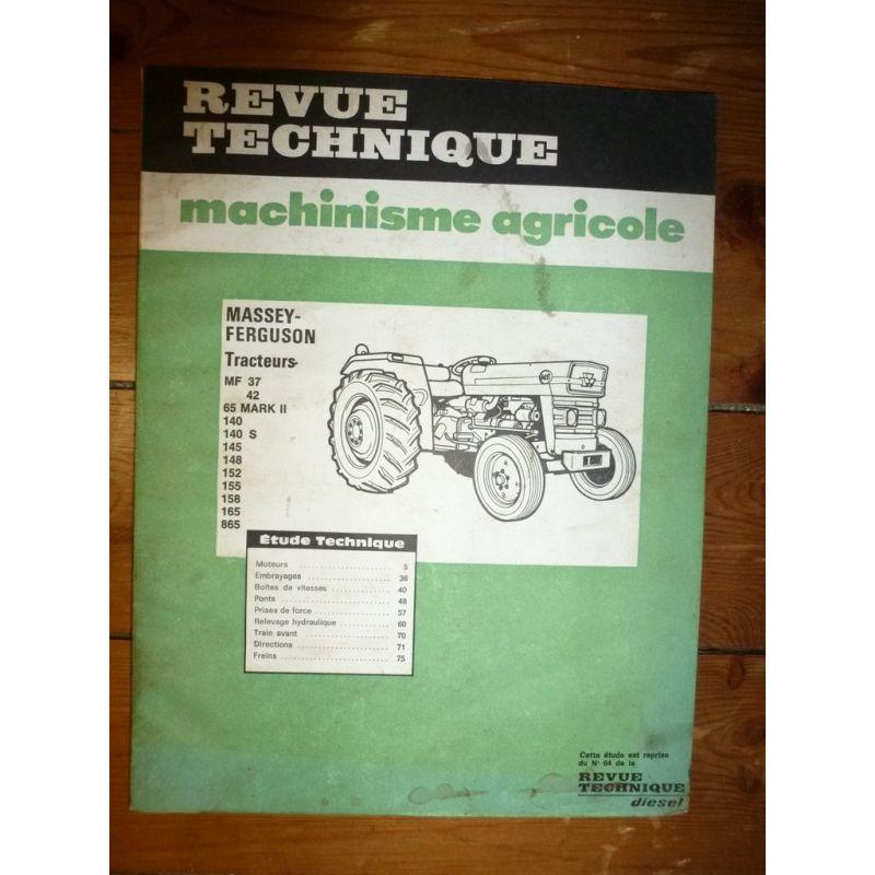 Massey ferguson 37 revue technique