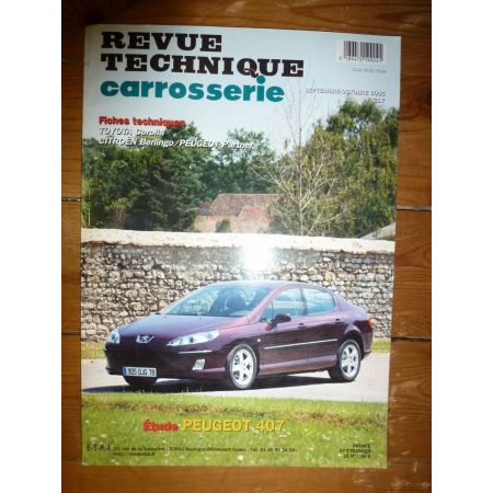 407 Revue Technique Carrosserie Peugeot