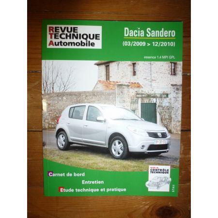 Sandero 09-10 Revue Technique Dacia