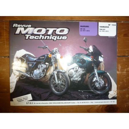 GN125 TDM850 Revue Technique moto Suzuki Yamaha