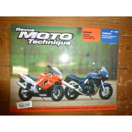 GSF1200 Bandit YZF600R Revue Technique moto Suzuki Yamaha