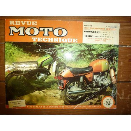 KX125 R60 R90 Revue Technique moto Bmw Kawasaki