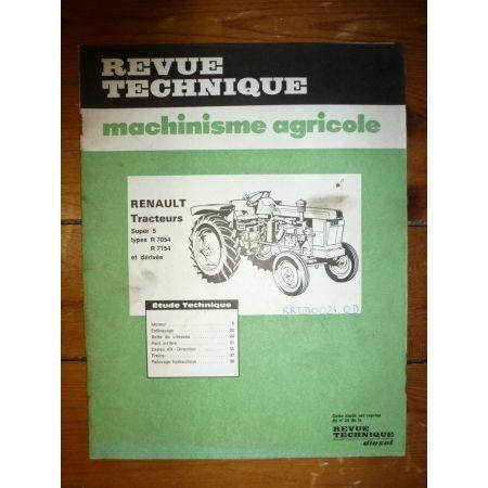 S5D R7054 R7154 Revue Technique Agricole Renault