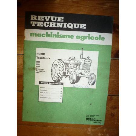 2000 à 5000 Revue Technique Agricole Ford