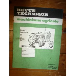 rta revue technique ford s ries 2000 3000 4000 et moteur du 5000. Black Bedroom Furniture Sets. Home Design Ideas