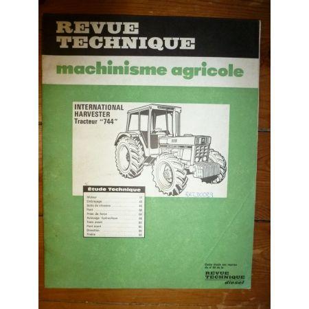 IH744 Revue Technique Agricole IH