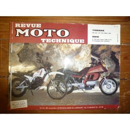 XT125 SR125 K100 Revue Technique moto Bmw Yamaha