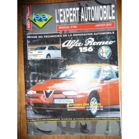 156 Revue Technique Alfa Romeo