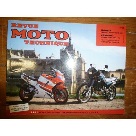 CBR600 XTZ660 Revue Technique moto Honda Yamaha