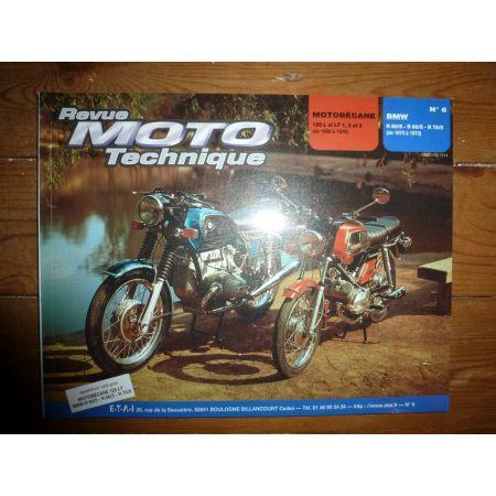 125 L LT R50 R60 R75 Revue Technique moto Bmw Motobecane