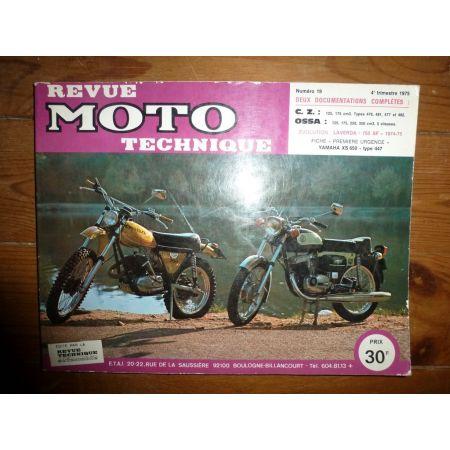 125 350 Revue Technique moto Cz Ossa