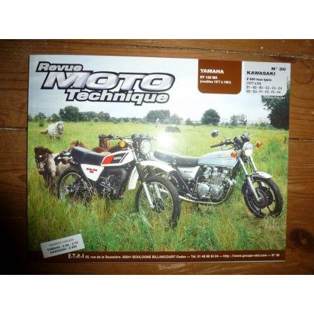 DT125MX Z650 Revue Technique moto Kawasaki Yamaha