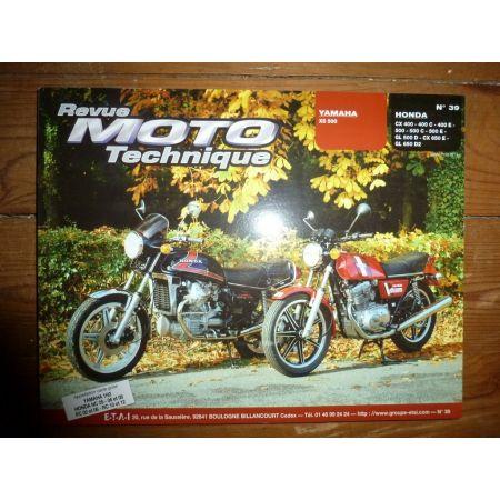 CX400 500 GL500 650 XS500 Revue Technique moto Honda Yamaha