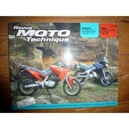 DT125 F650 Revue Technique moto Bmw Yamaha