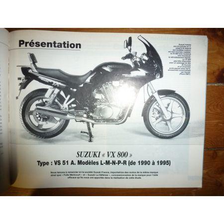 VX800 KLE500 Revue Technique moto Kawasaki Suzuki