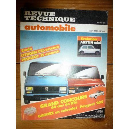 C25 J5 ess Revue Technique Citroen Peugeot