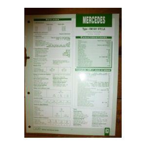 mercedes benz vito 110d type om 601 970 la. Black Bedroom Furniture Sets. Home Design Ideas