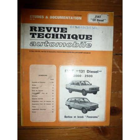 131 2l 2.5l Revue Technique Fiat