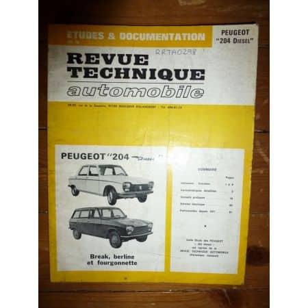 204 Die Revue Technique Peugeot