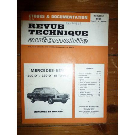 200D 220D Revue Technique Mercedes