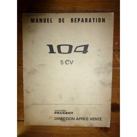 104 5CV Revue Technique Peugeot