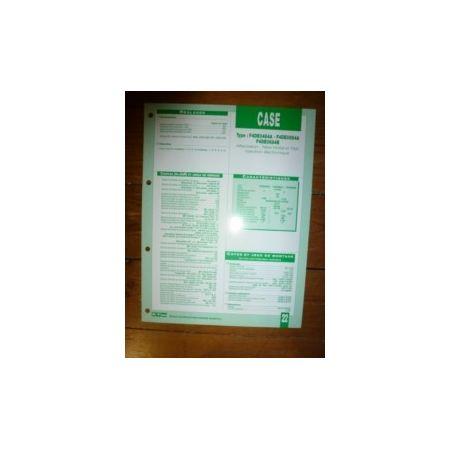 F4DE0545A-0684A-0684B Fiche Technique Case IH