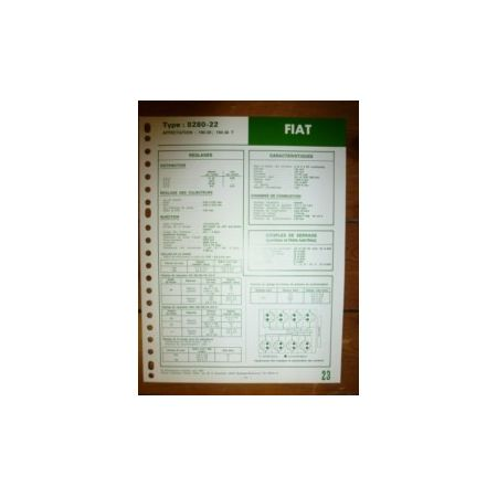 8280-22 Fiche Technique Fiat Someca