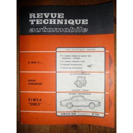 1200 S Revue Technique Simca Talbot