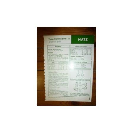 E571-E671-E572-E672 Fiche Technique Hatz