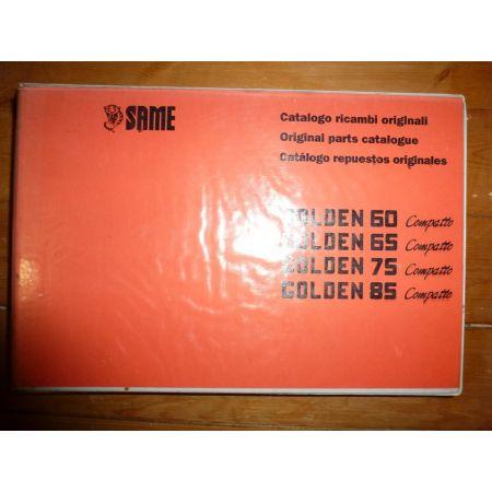 Golden 60-65-75-85 Compatto Catalogue Pieces Same