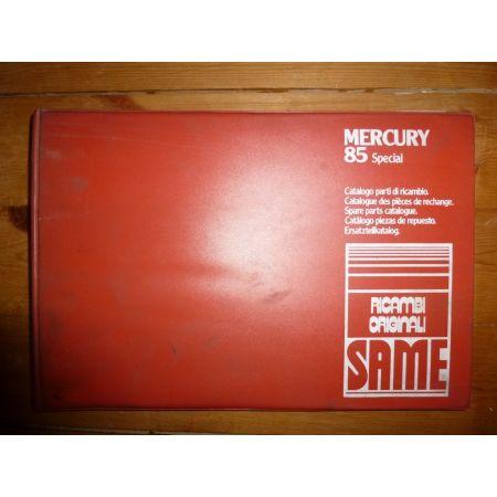 Mercury 85 Special Catalogue Pieces Same