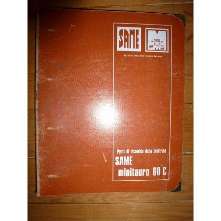 MiniTauro 60C Catalogue Pieces Same